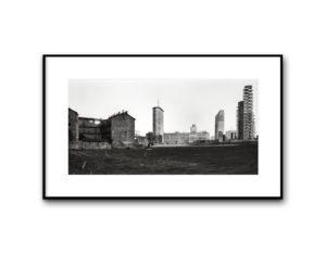 #15030402, Veduta su via Melchiorre Gioia, Milano, 2015, image 40x80 cm, cotton paper