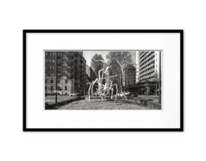 #18020113, Danza, Milano, 2018, image 20x40 cm, frame 35x55 cm